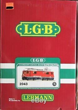LGB 2043 RhB Electric Loco Ge 4/4, G-Gauge LNIB