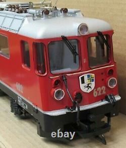 LGB 2043 RhB Swiss Electric Locomotive Ge 4/4 #622 Arosa G-Gauge NIB