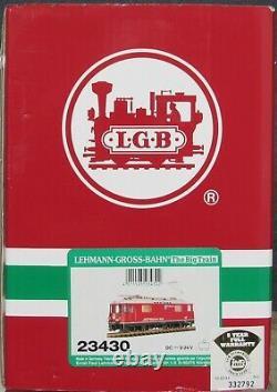 LGB 23430 RhB Eloco GE 4/4 lll Felsberg Electric Engine G-Gauge LNIB