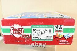 LGB 89590 G GAUGE ELECTRIC RIGI CABLE CAR SET MINT BOXED nz