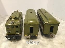 LIONEL STANDARD GAUGE 347e TRAIN SET 8 ENGINE. 337,338