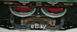 LIONEl STANDARD GAUGE #10E PEACOCK ENGINE WITH 3 PASSENGER CARS. NICE SET