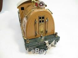 Lionel 10 Electric Loco Baby State Brown EX Restored Standard Gauge X2601
