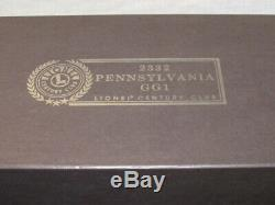 Lionel 2332 Pennsylvania GG1 6-18314 Century Club Locomotive O Gauge