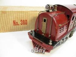 Lionel 380 Electric Loco Maroon with Box Standard Gauge X2955