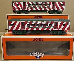 Lionel 6-30165 M7 Subway Christmas Commuter Set O-Gauge LNIB