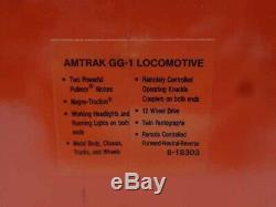 Lionel Amtrak Gg-1 Electric Engine 6-18303! For O Gauge Passenger Car Train Set
