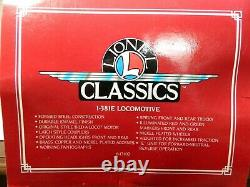 Lionel Classics Trains 6- 13102 Standard Gauge # 381 E Electric Locomotive Lnob