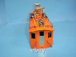 Lionel Corporation O Gauge Tinplate No. 256 Electric Complete Shell Orange