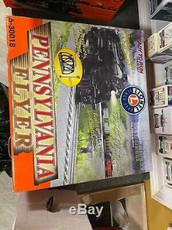 Lionel Pennsylvania Flyer O Gauge Train Set 6 -30018 in original packaging
