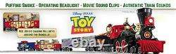 Lionel Pixar's Toy Story Electric O Gauge Model Train Set withRemote and Bluetooth