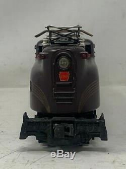 Lionel Postwar O Gauge 2360 GG1 Pennsylvania Tuscan 5 Stripe with Original Box