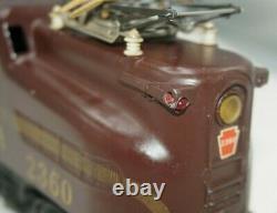 Lionel Postwar O-gauge #2360 Prr Gg-1 Tuscan Single Stripe