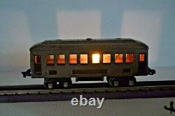 Lionel Prewar Mojave Train Set 253 Engine & 2-610, 612 Passenger Cars O Gauge