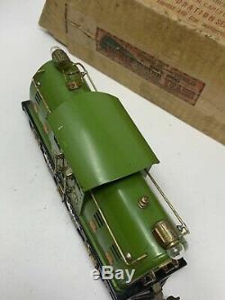 Lionel Prewar O Gauge # 254e Green Electric Profile Loco And Box Ob L11