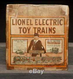 Lionel Prewar Outfit 40. Standard Gauge Electric Passenger Set