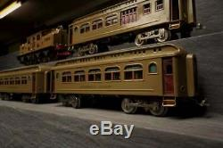 Lionel Prewar Standard Gauge 402 Electric Passenger Set