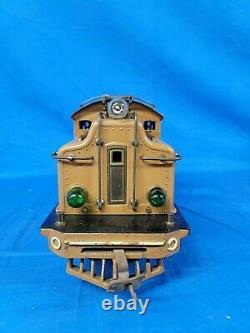 Lionel Prewar Standard Gauge 411E State Set Transcontinental Limited 1930 408E