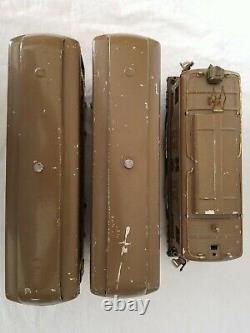 Lionel Prewar Standard Gauge 8e 0-4-0 Electric, 337 & 338 Mojave Passenger Cars
