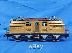 Lionel Prewar Standard Gauge Two Tone Brown 408E Engine loco For The State Set