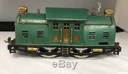 Lionel Standard Gauge # 10E Engine And Passenger Set Cars 332, 339 & 341