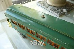 Lionel Standard Gauge 10E Engine And Passenger Set Cars 332, 341 QUALITY