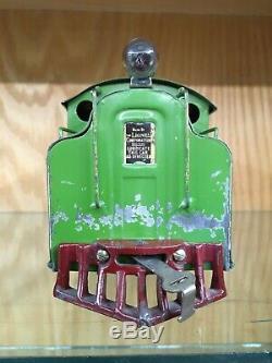 Lionel Standard Gauge 38 Light Green Locomotive c. 1917 VG+ to EX- RARE COLOR