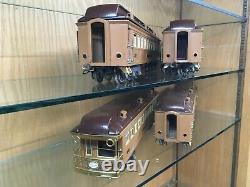 Lionel Standard Gauge 411E Brown State Set with 408E, 412, 413, 414, 416 EX-EX+