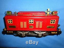 Lionel Standard Gauge #8 Electric Locomotive. Runs Well