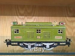 Lionel Standard Gauge Light Olive 347E Set with8E, 337, 338 & OBSB c. 1929 EX