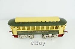 Lionel Standard Gauge No. 4 Cream & Green Trolley James Cohen Reproduction