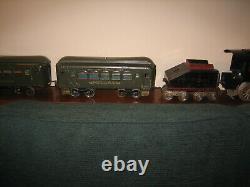 Lionel Standard Gauge No. 51 Locomotive & Tender & Passenger Cars