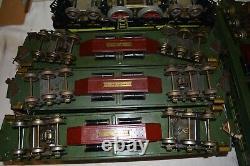 Lionel Standard Gauge State Set 408 412 213 414 Illinois 416 New York Colorado
