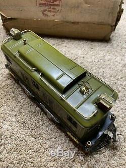 Lionel Trains No. 8E Electric 0-4-0 Locomotive, Standard Gauge OB B01