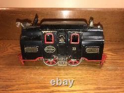 Lionel Trains Pre-War No 33 New York Central Lines Locomotive Standard Gauge