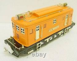 MTH 10-1104-1 Standard Gauge Orange No. 9E Electric Locomotive with PS LN/Box