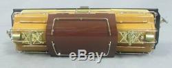 MTH 10-1132-1 Standard Gauge 408E Brown State Set Electric Locomotive EX