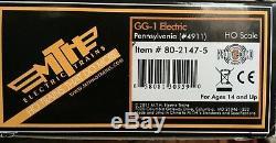 MTH 80-2147-5 AC (3-rail) HO GAUGE PENNSYLVANIA RAILROAD GG1 ELECTRIC LOCOMOTIVE