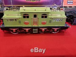 MTH/ LIONEL STANDARD GAUGE 408E APPLE GREEN RUNS GREAT NO PROTO WithBOX
