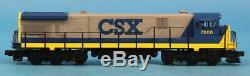 MTH O Gauge CSX #7000 3-Rail General Electric C30-7 Diesel Engine #20-2012-0U