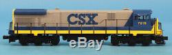 MTH O Gauge CSX #7015 3-Rail General Electric C30-7 Diesel Engine #20-2012-1U