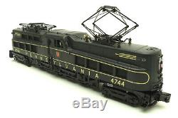 MTH Premier 20-5590-1 Pennsylvania P5a Electric Engine #4744 withPS2.0, O Gauge