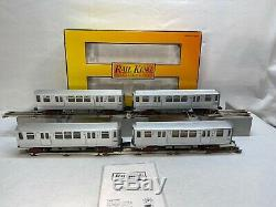 MTH Railking 30-2477-1 Chicago 3200 Series 4-Car Subway Set PS. 2 O gauge New