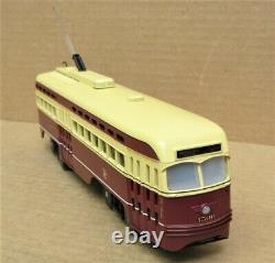 MTH Railking 30-2583-1 Toronto PCC Electric Street Car Trolley withPS2 O-Gauge LN
