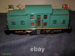 MTH Tinplate 10 0-4-0 Standard Gauge Electric Locomotive Peacock withPS-2