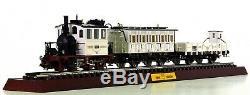Marklin 28970 Ho Gauge Wedding Train Glaskasten Tank Loco 2 Coaches + Horse Cart