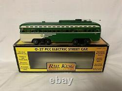 Mth Pittsburgh Pennsylvania Pcc Electric Street Car Trolley! O Gauge Train