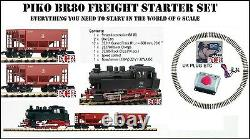 NEW PIKO BR80 G SCALE GAUGE 45mm TRACK STARTER SET LGB BACHMANN ALL COMPATIBLE