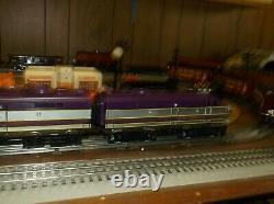 O gauge K Line diesel Locomotive electric Engine set with diesel sound