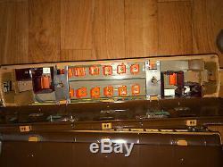 Original Lionel Prewar Standard Gauge 408E Brown four car state set! EXCELLENT
